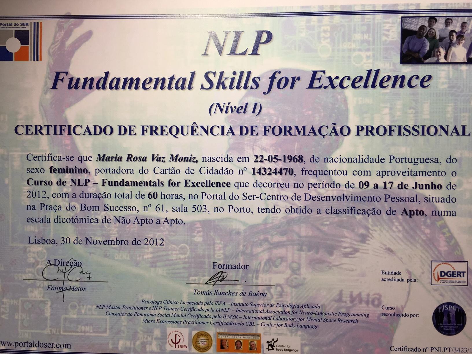 Certificado NLP