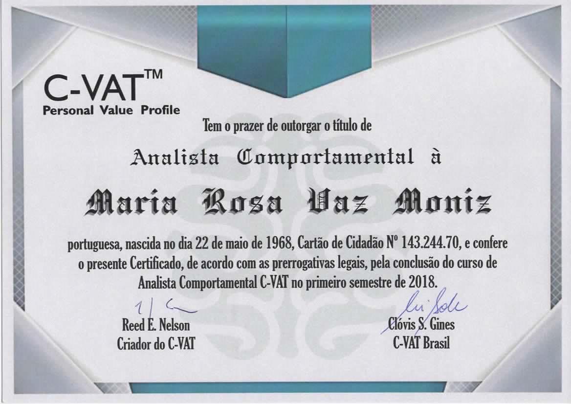 Diploma Rosa